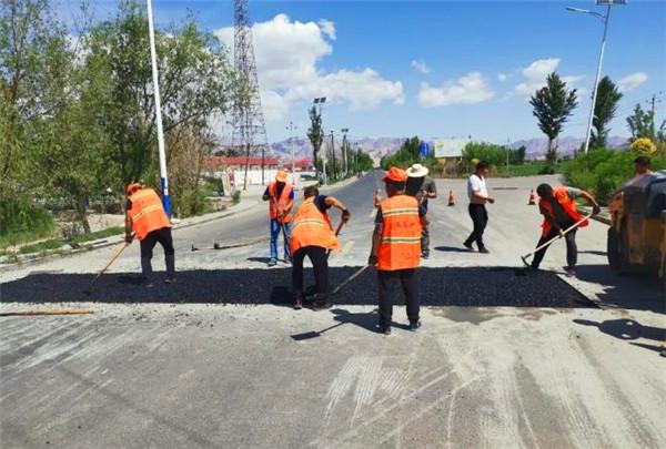 沥青冷补料助内蒙古自治区巴彦淖尔快速养护道路坑槽