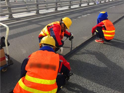 沥青双膜立面贴缝带处理道路坑槽接缝密封