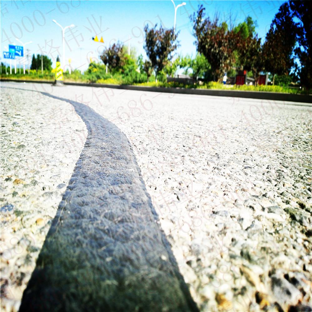 针对不同裂缝宽度,正确使用道路贴缝带和道路灌缝胶